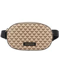 Emporio Armani Women's Belt Bag - Natural