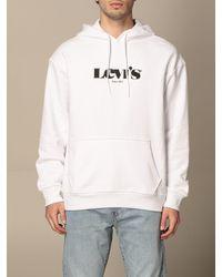 Levi's Sweatshirt - Blanc