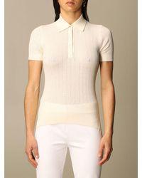 Lauren by Ralph Lauren Polo Shirt - Natural
