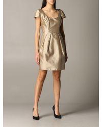 Emporio Armani Dress - Metallic