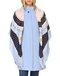 Liu Jo Women's Neck Scarf - Blue