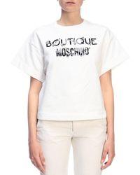 Boutique Moschino Sweatshirt - White