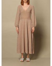 Anna Molinari Dress - Natural