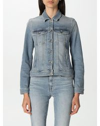 7 For All Mankind Jacket - Blue