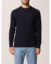Woolrich Pull - Bleu