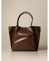 Armani Exchange Tote Bags - Brown
