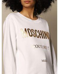 Moschino Sweatshirt - White
