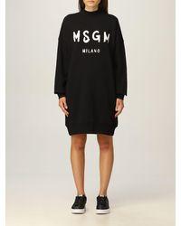 MSGM Vestido - Negro