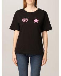 Chiara Ferragni Camiseta - Negro