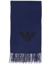 Emporio Armani Scarf - Blue