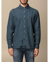 Gran Sasso Camisa - Azul