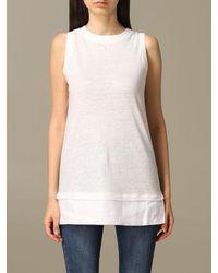 Alpha Studio Sweater - White