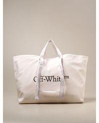 Off-White c/o Virgil Abloh Crossbody Bags - White