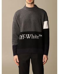 Off-White c/o Virgil Abloh Jumper - Grey