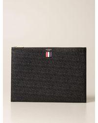 Thom Browne Briefcase - Multicolor