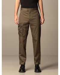 Les Hommes Trousers - Brown
