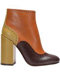 L'Autre Chose | Heeled Booties Shoes Women | Lyst