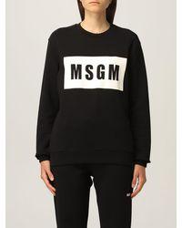 MSGM Sweat-Shirt - Blanc