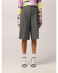 MSGM Pantalones cortos - Gris