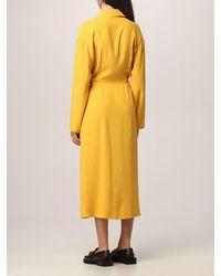 Erika Cavallini Semi Couture Robes - Jaune