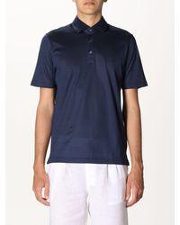 Gran Sasso Polo Shirt - Blue