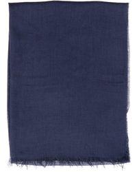 Fay Classic Scarf - Blue