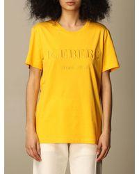 Iceberg Camiseta - Amarillo