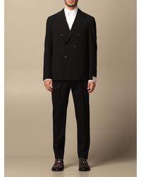 Eleventy Suit - Blue