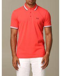 BOSS by Hugo Boss T-shirt - Red