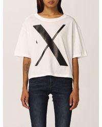 Armani Exchange Camiseta - Blanco