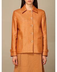 Eleventy Jacket - Orange