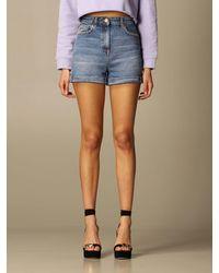 Elisabetta Franchi Pantalones cortos - Azul