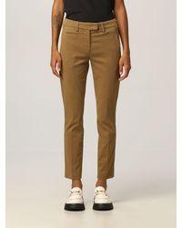 Dondup Trousers - Natural