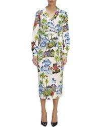 Stella Jean - Kleid für Damen - Lyst