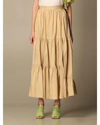 Twin Set Skirt - Natural