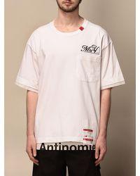 Maison Mihara Yasuhiro T-shirt - Pink
