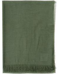 Fay Classic Scarf - Green