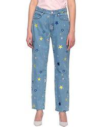 Love Moschino Women's Jeans - Blue