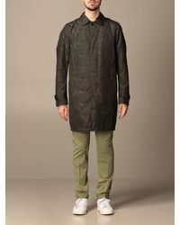 Dondup Trench Coat - Multicolor