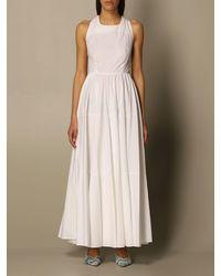 Department 5 Dress - White