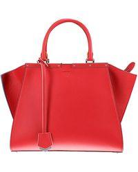 Fendi - Leather Tote Bag - Lyst