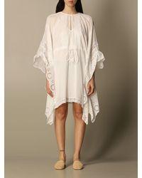 Twin Set Robes - Blanc