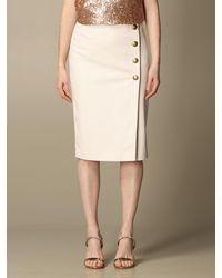 Pinko Skirt - White