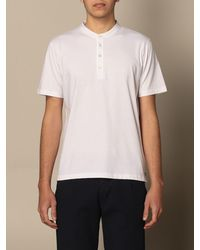 Eleventy - T-shirt - Lyst