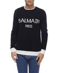 fdf9a66ae1 Men's Balmain Sweaters and knitwear Online Sale - Lyst