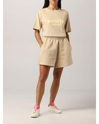 ROTATE BIRGER CHRISTENSEN Tshirt aster in cotone con logo - Neutro