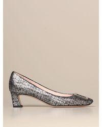 Roger Vivier Court Shoes - Metallic