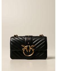 Pinko Crossbody Bags - Black