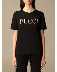 Emilio Pucci T-shirt - Black