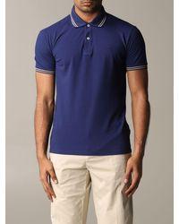 Brooksfield Polo Shirt - Blue